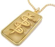 MEDICAL NECKLACES - 9ct GOLD
