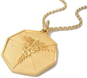 9CT GOLD MEDICAL TAGS