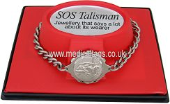 SOS TALISMAN STEEL LADIES BRACELET